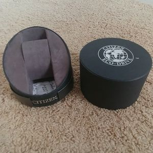Citizen eco-drive watch box & Instructions Only